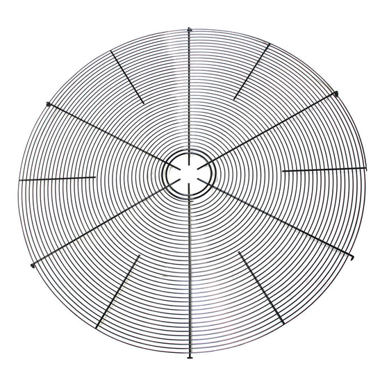 Front of exhaust fan grille.