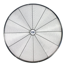 Front of 30 in. pedestal fan grille.