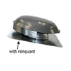 Rain Guard for Roof Mount Power Attic Ventilators