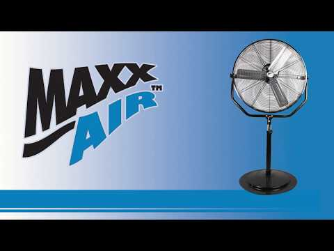 Learn more about the great features of the Maxx Air HVPF 30 YOKE fan with this video.