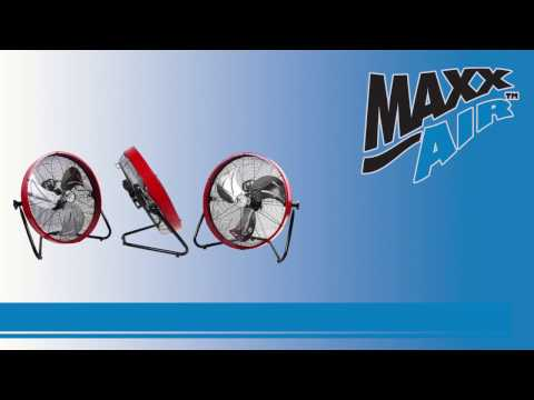 See how easy and fast it is to get set up with the Maxx Air HVFF 20S floor fan with this video assembly walkthrough.