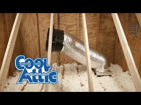 An easy to follow, step by step video guide on installing a Maxx Air CX1401 or CX1801 in your attic.