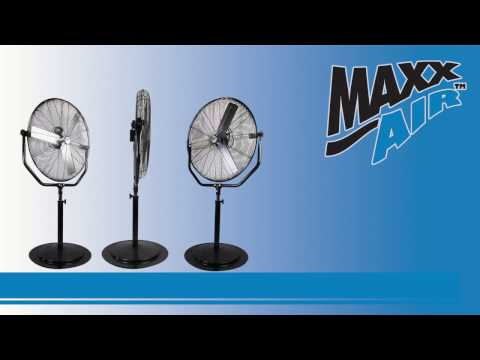 See the easy setup of the Maxx Air 30 in. Yoke Pedestal Fan with this video walkthrough.