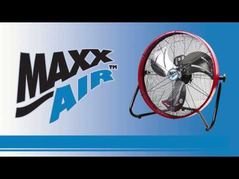 Learn more about the great features of the Maxx Air HVFF 20S floor fan with this informational video.