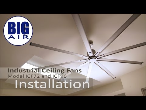 See how easy it is to set up a Maxx Air ICF ceiling fan in any space with this step by step video.
