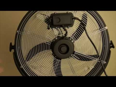 Learn more about the easy assembly process for the Maxx Air HVPF 20 OR Outdoor Rated Pedestal Fan with this video walkthrough.