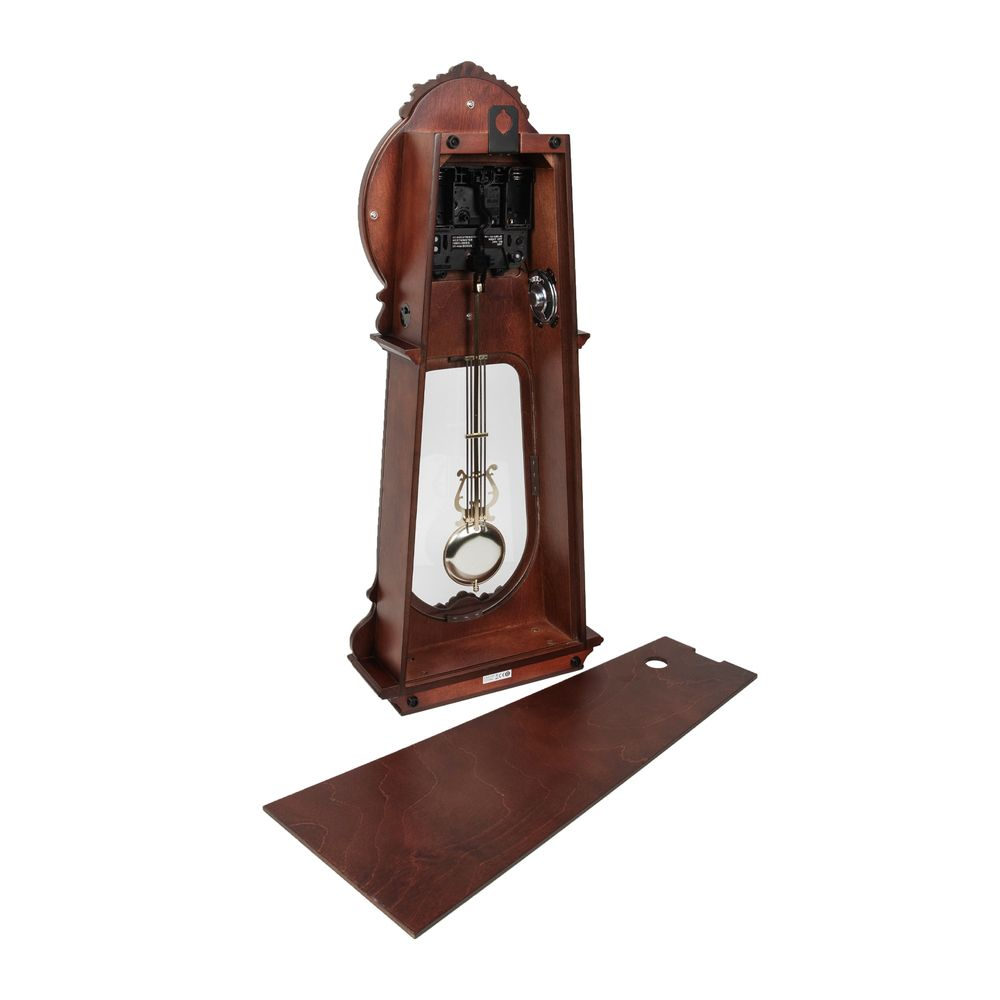 Rhythm Ornate Wooden Pendulum Wall Clock - Westminster Chime