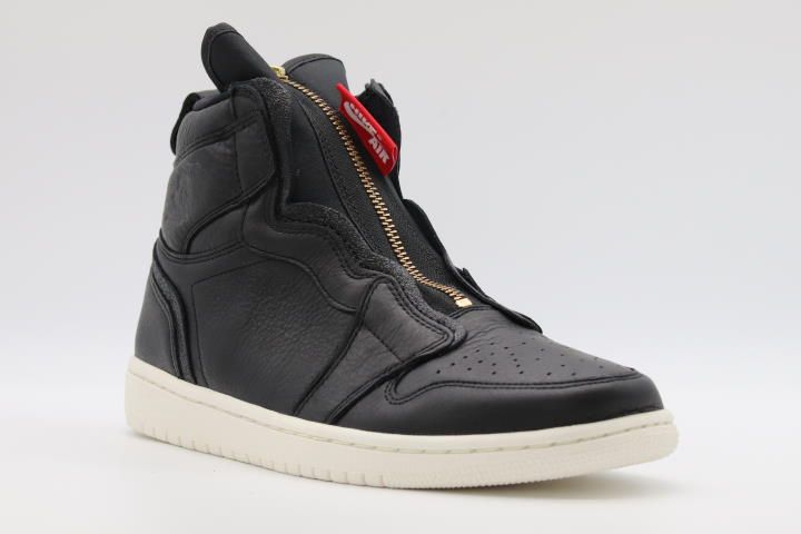 Jordan 1 Retro High Zip Black Sail (W)