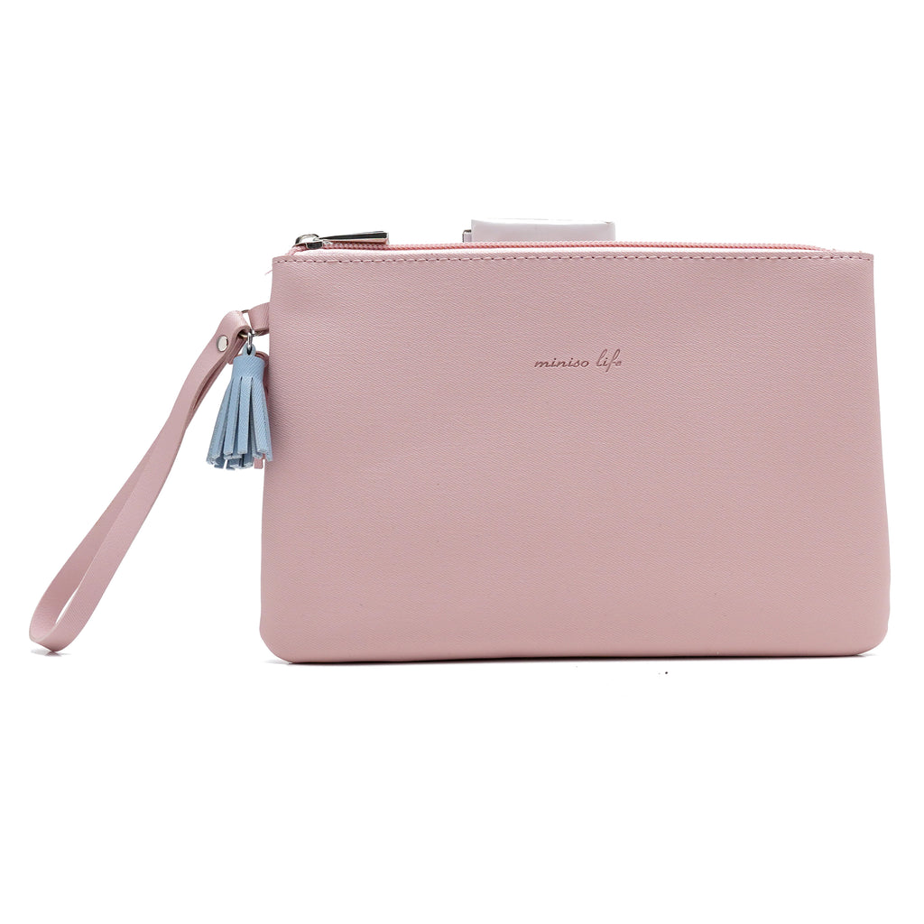 Miniso Simple Cosmetic Bag (Pink)