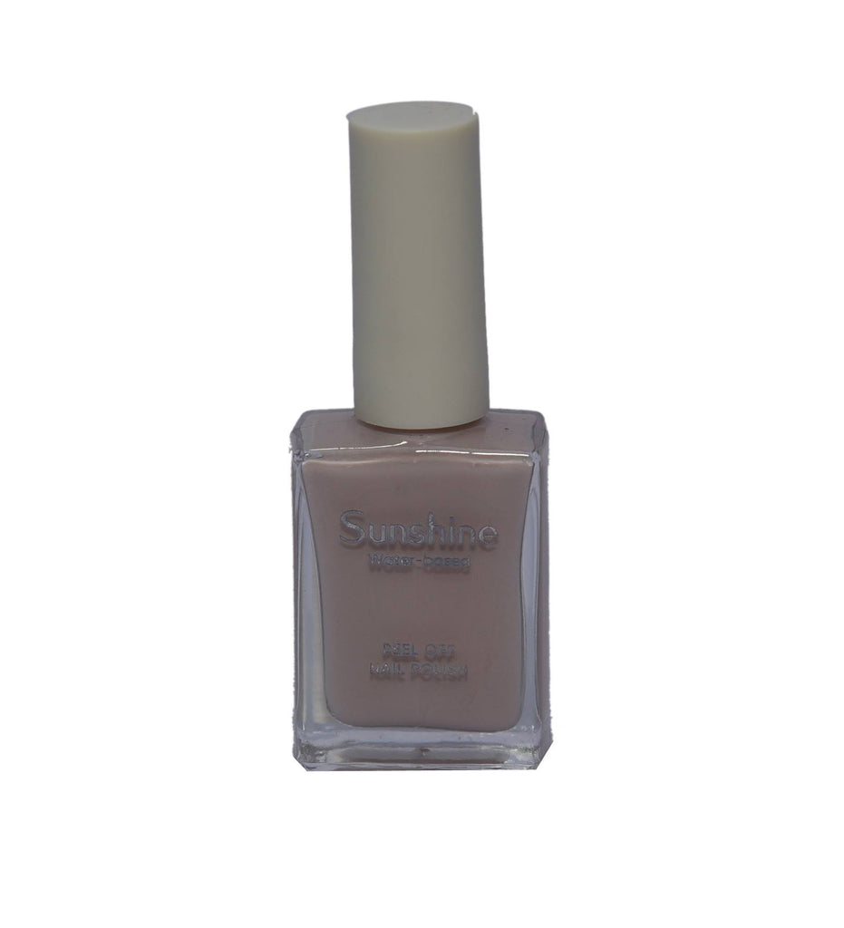 Miniso Sunshine Water-based Peel Off Nail Polish (24 Light Grey)