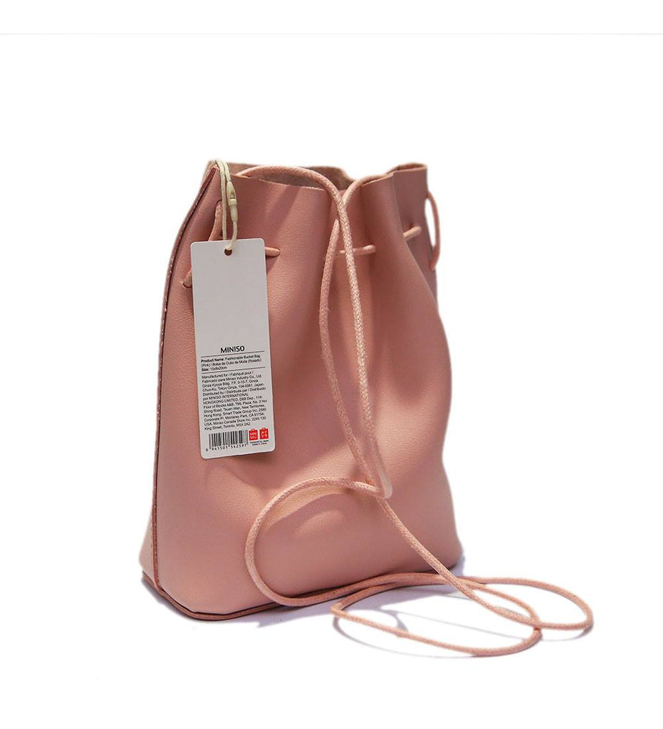 Miniso Fashionable Bucket Bag