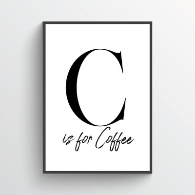 C is For Coffee