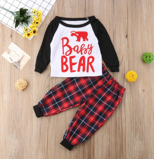 Christmas Family Suit Bear Pyjamas