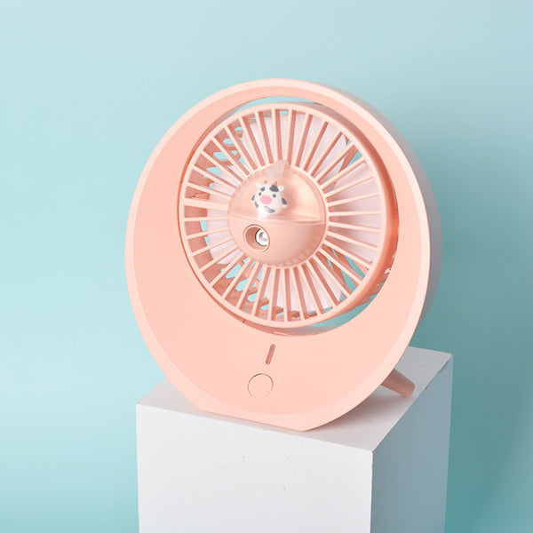 Cartoon Water Mini Fan Spray For Summer
