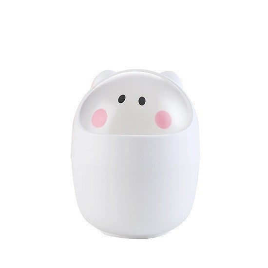 Creative Cartoon Desktop Mini Trash Can & Home Decoration