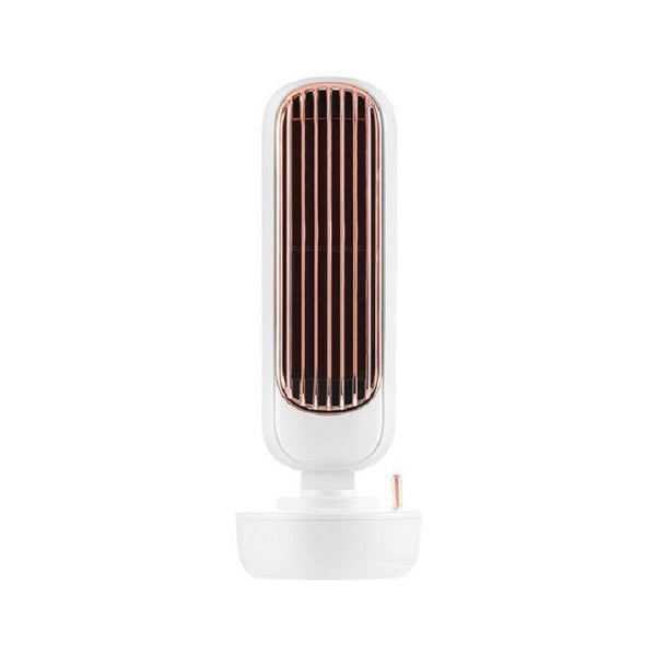 2 in 1 Portable Desktop Mini Silent Fan & Humidifier With USB Charging