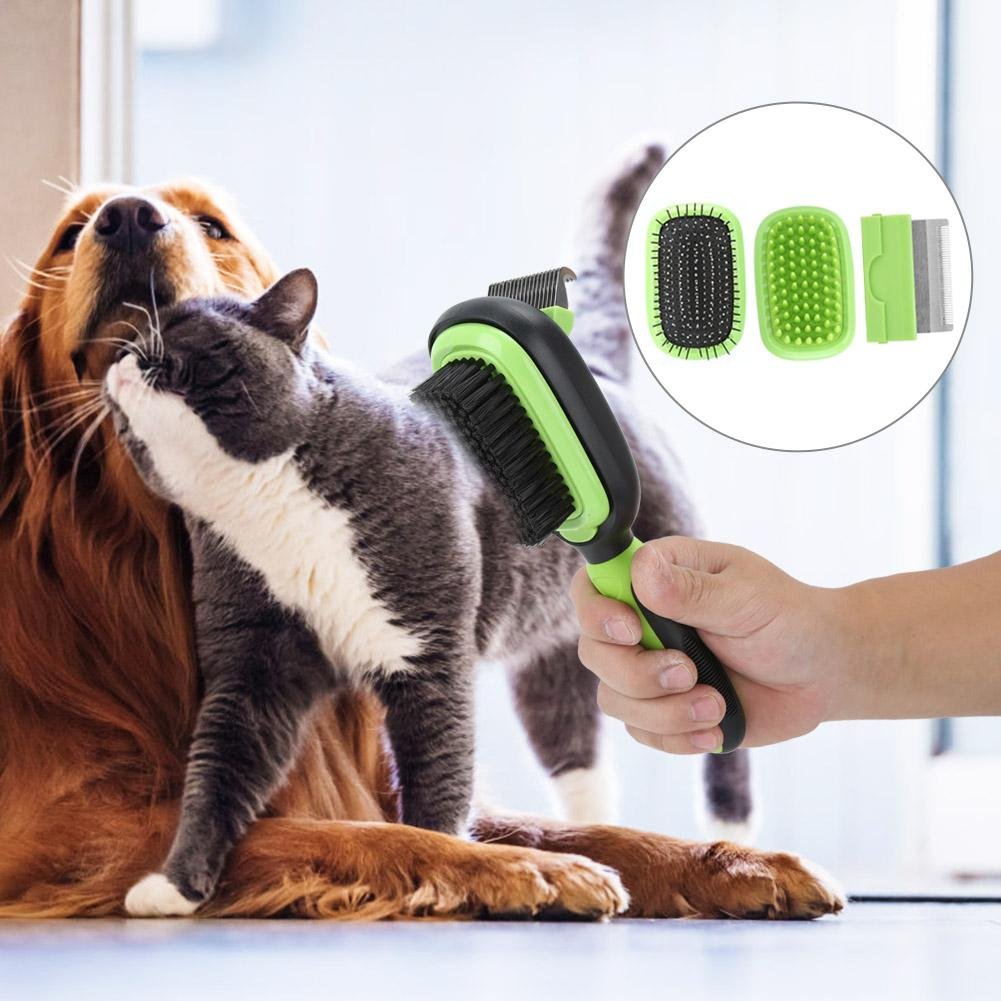 5-in-1 Pet Cleaning and Grooming Comb Set - Sherozh
