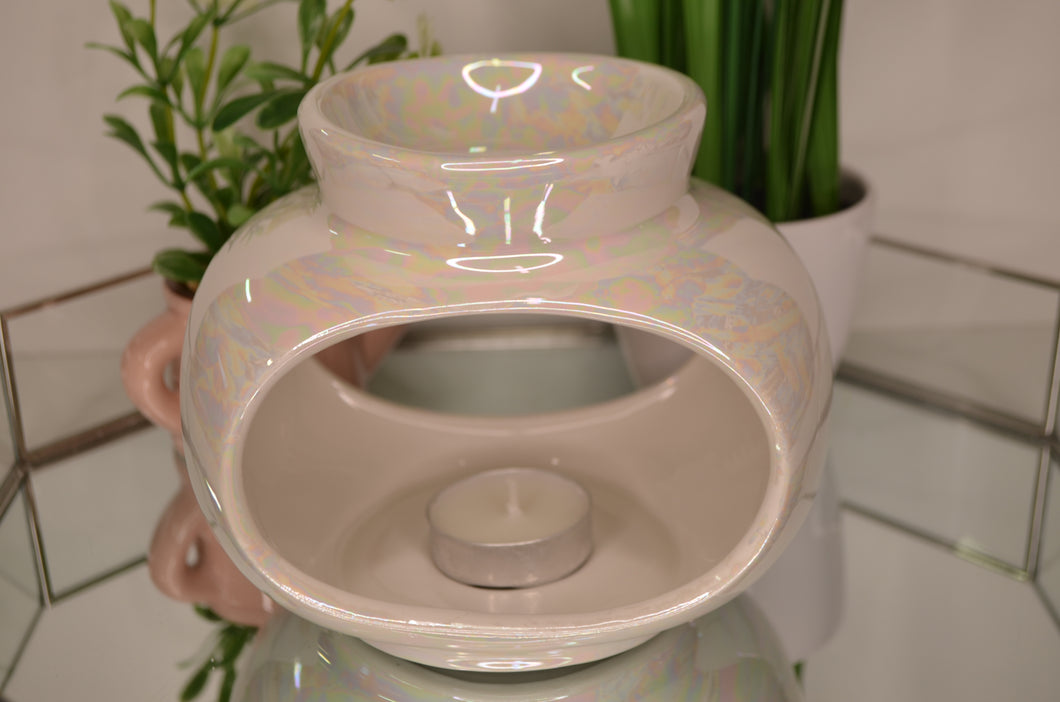 Lustre Oval Shape Large Wax Burner