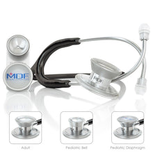 Load image into Gallery viewer, MDF® MD One® Epoch Titanium Stethoscope (MDF777DT) - Black