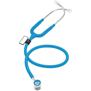 MDF® NEO™ Infant and Neonatal Deluxe Lightweight Dual Head Stethoscope (MDF787XP) - Bright Blue
