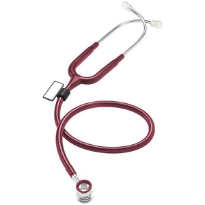 MDF® NEO™ Infant and Neonatal Deluxe Lightweight Dual Head Stethoscope (MDF787XP) - Burgundy