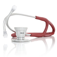 Load image into Gallery viewer, MDF® Classic Cardiology Dual Head Stethoscope with Stainless Steel Chestpiece and Headset (MDF797) - Burgundy