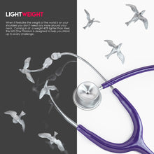 Load image into Gallery viewer, MDF® MD One® Epoch Titanium Stethoscope (MDF777DT) - Purple