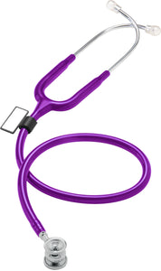 MDF® NEO™ Infant and Neonatal Deluxe Lightweight Dual Head Stethoscope (MDF787XP) - Purple