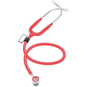 MDF® NEO™ Infant and Neonatal Deluxe Lightweight Dual Head Stethoscope (MDF787XP) - Raspberry