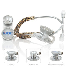 Load image into Gallery viewer, MDF® MD One® Epoch Titanium Stethoscope (MDF777DT) - Real Tree