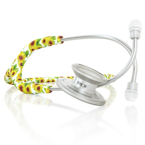 MDF® MD One® Stainless Steel Dual Head Stethoscope (MDF777) - Sunflower