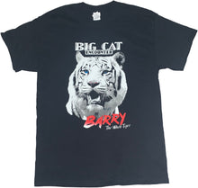 "Load image into Gallery viewer, Black ""Barry White the Tiger"" T-Shirt"