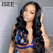 Load image into Gallery viewer, [A866] Body Wave 4x4 Lace Closure Wigs For Women Peruvian Body Wave Human Hair Wigs 180% Density Lace Closure Human Hair Wigs