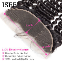 Load image into Gallery viewer, [H228] Human Hair Bundles With Frontal 13*4 Pre Plucked Lace Frontal Remy Peruvian Loose Deep Bundles With Frontal