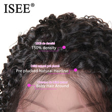 Load image into Gallery viewer, [A852] Kinky Curly 13X4 Lace Front Wig Brazilian Curly Human Hair Wigs Curly Bob Lace Front Wigs For Women