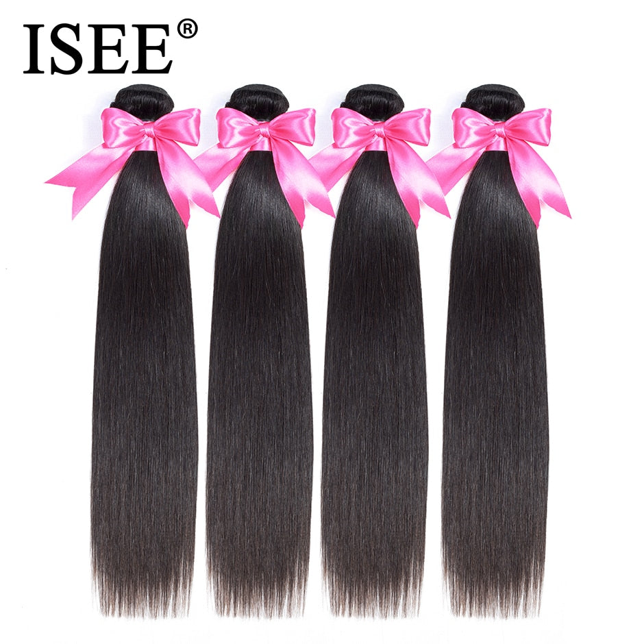 [D891] Malaysian Virgin Hair Straight Hair Extension 100% Unprocessed Human Hair Bundles Free Shipping Nature Color