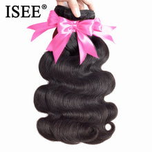 Load image into Gallery viewer, [G613] Peruvian Body Wave Virgin Hair Extension 100% Unprocessed Human Hair Bundles Free Shipping No Tangle Nature Color