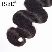 Load image into Gallery viewer, [G611] Indian Body Wave Human Hair Bundles 100% Remy Hair Extension 3 Bundles Hair Weaves Free Shipping Machine Double Weft