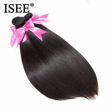 Load image into Gallery viewer, [D892] Peruvian Straight Hair Weaves Human Hair Bundles 100% Unprocessed Virgin Hair Extensions Free Shipping Nature Color