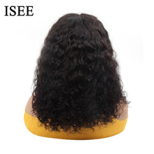 Load image into Gallery viewer, [A844]  Water Wave 4X4 Lace Closure Wigs Brazilian Curly  Bob Human Hair Wigs Lace Closure Wigs Bob Straight Lace Closure Wigs