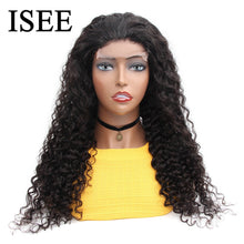 Load image into Gallery viewer, [A872] Water Wave 4x4 Lace Closure Human Hair Wigs 6x6 Lace Closure Wigs For Women Mongolian Water Wave Lace Part Wigs