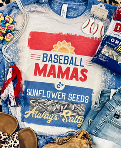 Baseball Mamas *sunflower seeds*