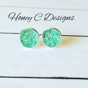 Mint on silver 12mm