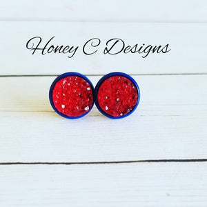 Red on blue 10mm