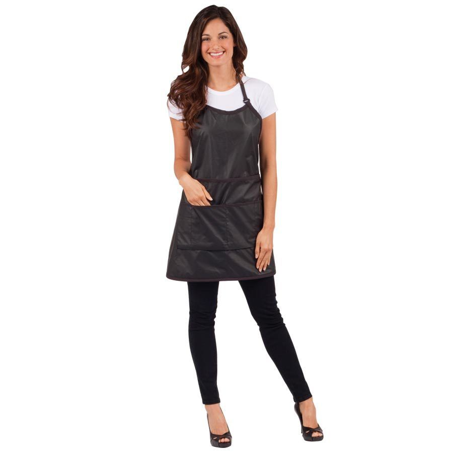 Betty Dain Signature Switch Convertible Apron Black