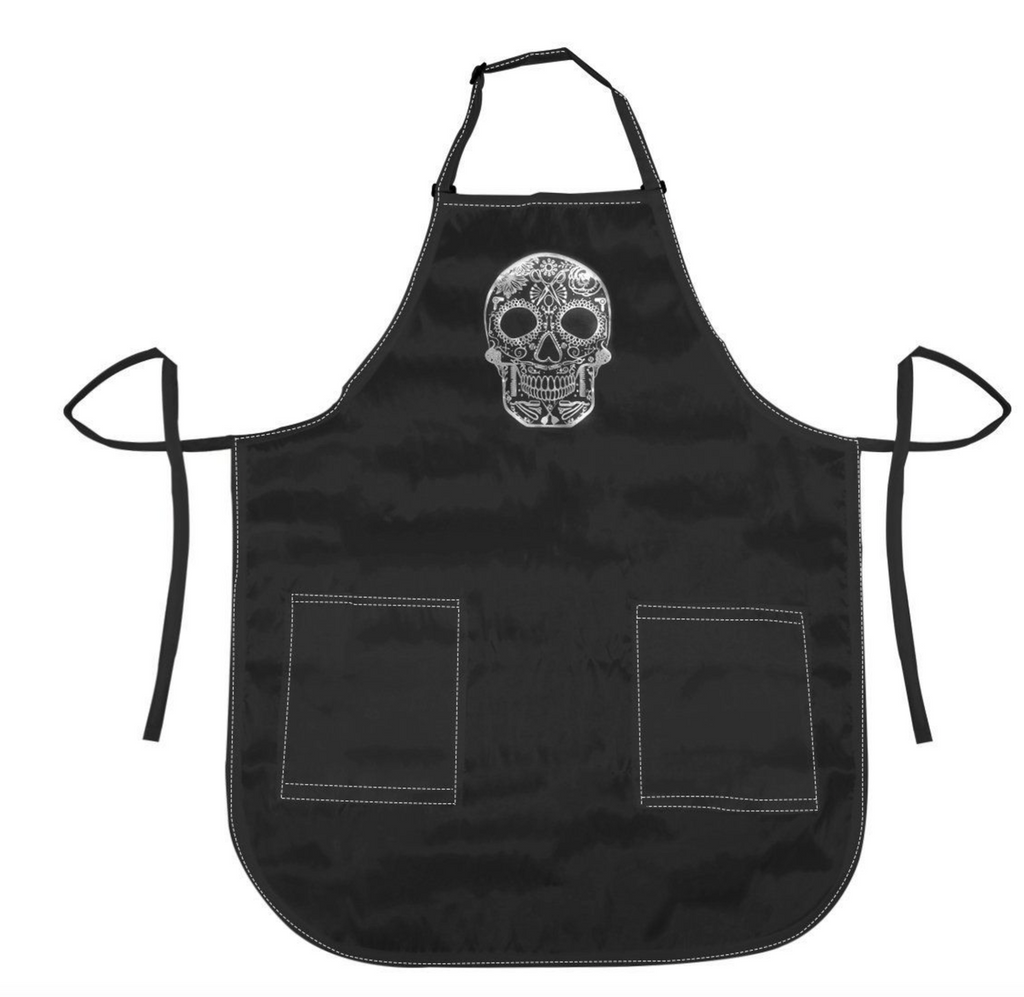 Betty Dain Sugar Skull Apron*New*