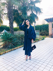 Blue abaya dress
