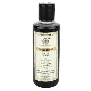 Oleo Khadi 18 Ervas - Super Crescimento Capilar - 210 Ml - Made In India - Indiamed