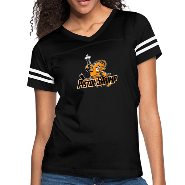 Pistol Shrimp - Women's Vintage Sport T-Shirt - black/white