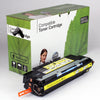 HP 309A Q2672A Compatible Yellow Toner, 4000 Page Yield